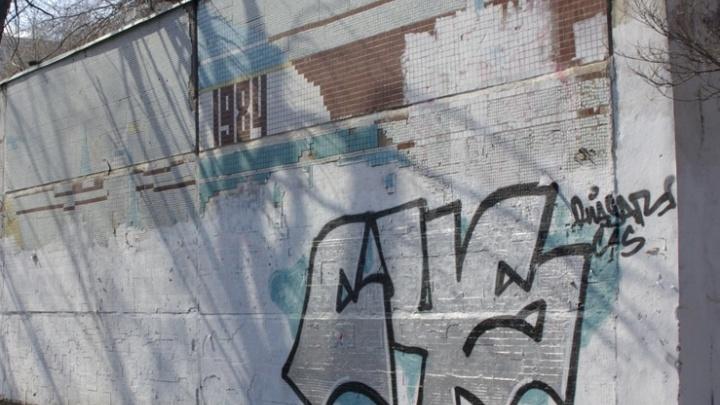 Жителей Самары просят не писать матерные слова на фасадах насосных станций