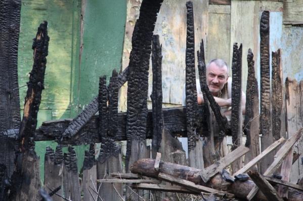 Многие ростовчане из-за пожара лишились всего имущества