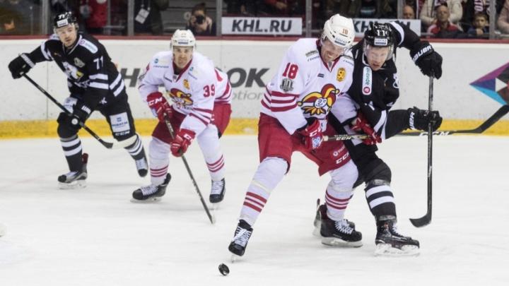 «Трактор» уступил гостям из Хельсинки со счётом 0:3