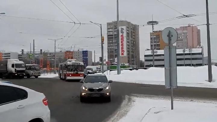 Троллейбусы пустят по кольцу Московское/Кирова 23 января