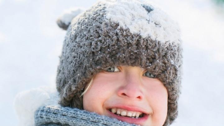 Ученикам младших классов отменили занятия из-за мороза