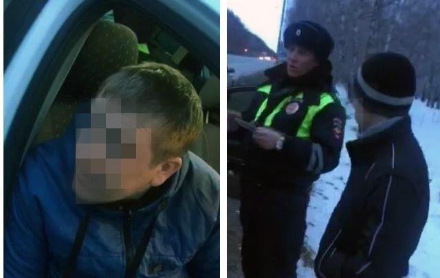 В Тюмени инспекторы поймали двух водителей, которые разъезжали по городу под наркотиками