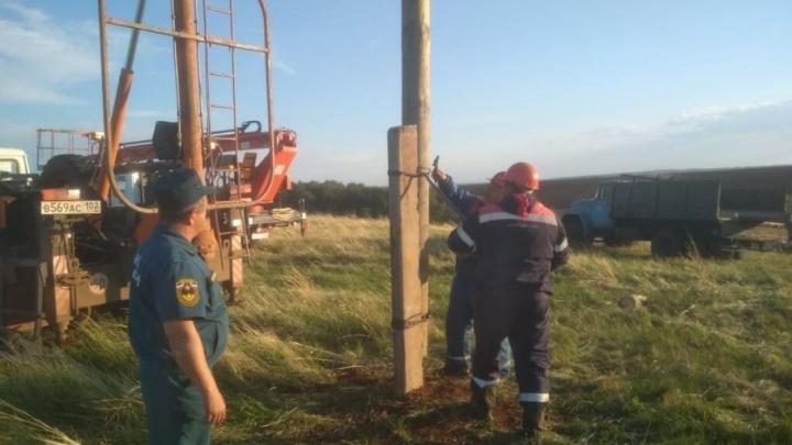 Ураган в Башкирии оставил без света две деревни и 386 человек
