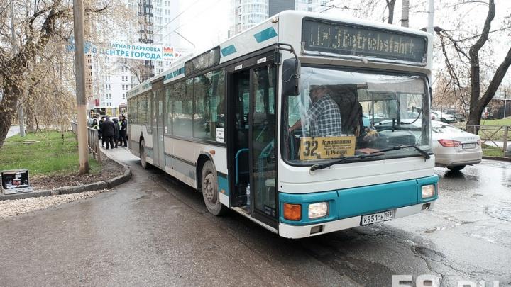 В Перми автобус насмерть сбил пешехода