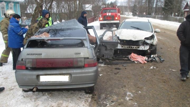 В ГИБДД назвали причину смертельной аварии в Гаврилов-Ямском районе