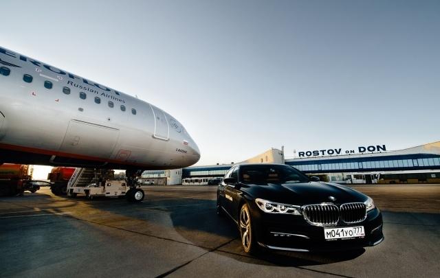 Привилегированных пассажиров в ростовском аэропорту будут возить на BMW