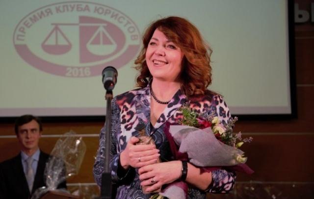 Глава юридической службы «Минудобрений» получила награду клуба юристов