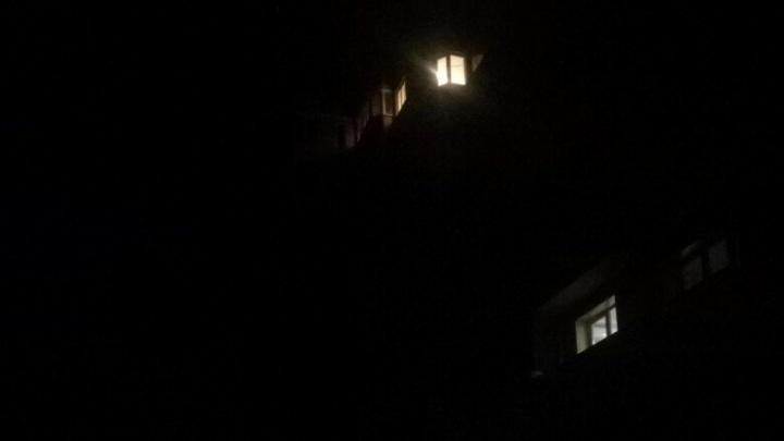 Ростовские власти окрестили «кромешную темноту» работой освещения в штатном режиме