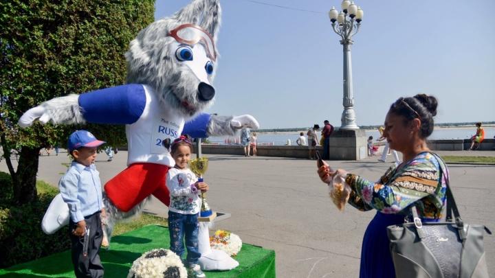 Воскресное утро Дня города в Волгограде: 15 лучших фото