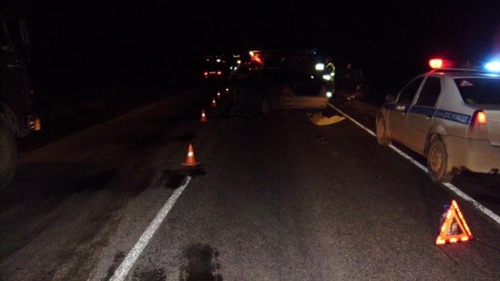 На трассе в Челябинской области пьяный водитель погубил пассажира