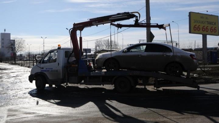 В Тюмени упростили процедуру возврата эвакуированных машин