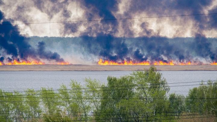 На Южном Урале горят сады