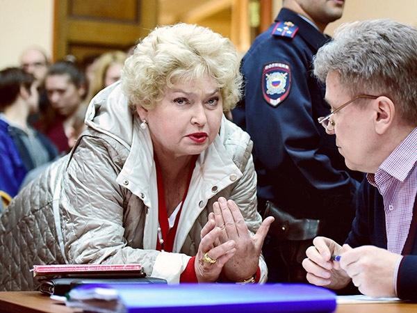 Людмила Нарусова, фото - Александр Коряков/Коммерсантъ