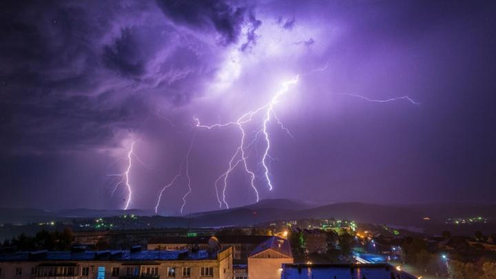 МЧС предупредило южноуральцев о ливнях с градом и шквалистом ветре