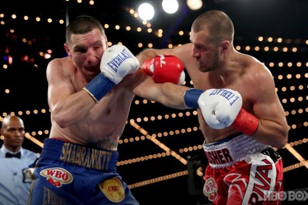 Украинец Вячеслав Шабранский был нокаутирован во втором раунде