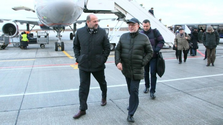 Советник президента РФ Михаил Федотов прибыл с рабочим визитом в Архангельск