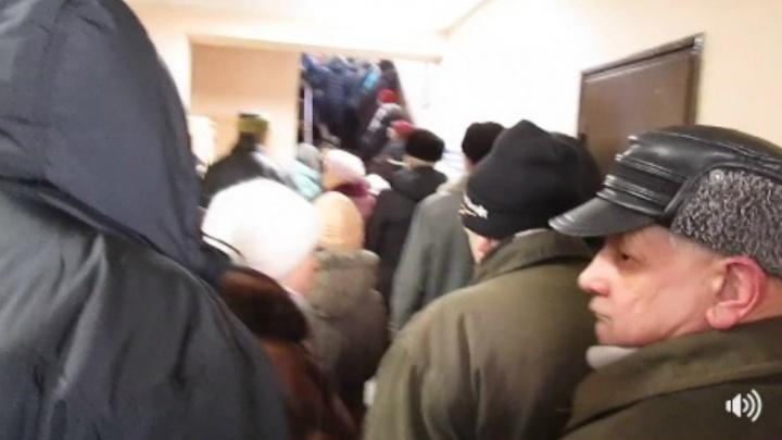 Ярославцы, получившие гигантские счета за декабрь, штурмуют управдом