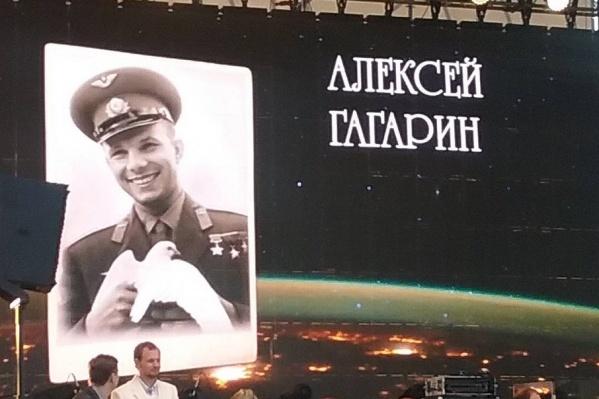 Ошибка организаторов вылезла на экран на главной сцене