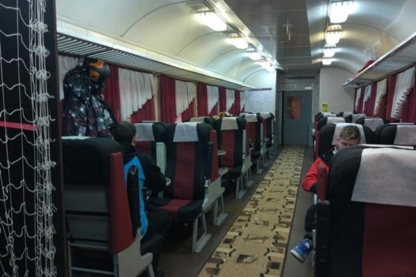 Первый поезд до ГЛК отправился 2 декабря