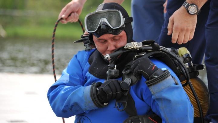 На озере Андреевском специалисты ТОСЭР ищут пропавшего рыбака