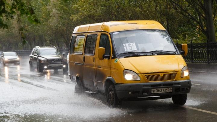 На Волгоград идут обещанные синоптиками дожди и грозы