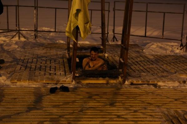 В Ярославле с 22 часов начались крещенские купания