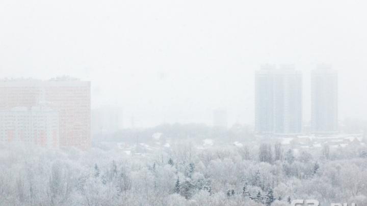 Мороз и сильный ветер: в Самарской области объявили штормовое предупреждение