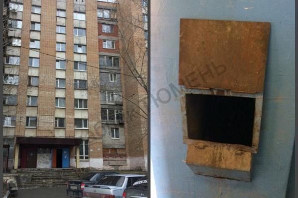 Ребенка нашли в мусоропроводе в девятиэтажном доме на Республики