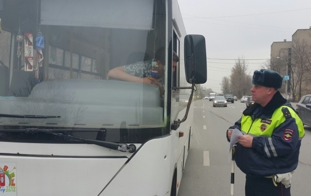 В Ростовской области водители автобусов 600 раз попались на нарушениях