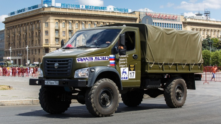 Сборная России по военному ралли пообещала Волгограду новый рекорд скорости
