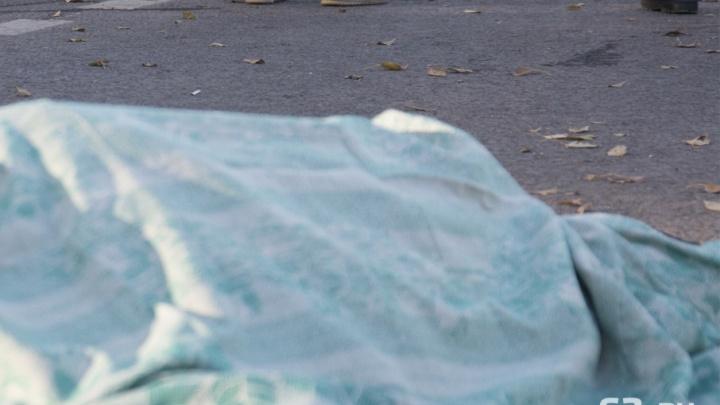 В Самаре на Ново-Садовой мужчина упал с 12 этажа