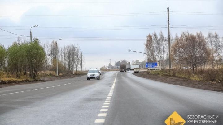 В Ярославле не приняли свежий ремонт на самой разбитой улице города