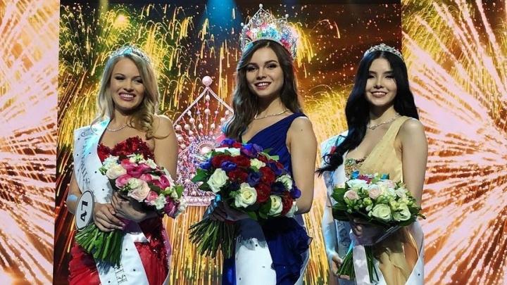 Стало известно, кто стал победительницей конкурса «Мисс Россия», где участвовала тюменка