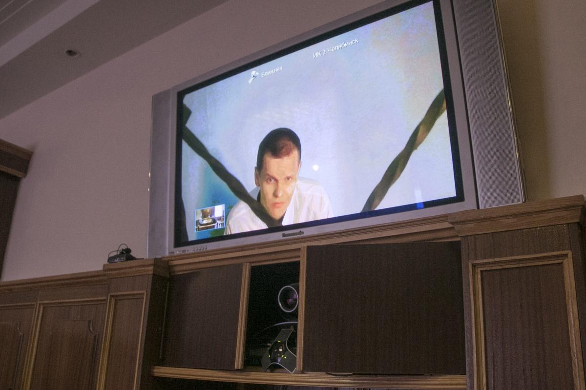 Александр Филин за время нахождения в тюремной больнице заметно похудел