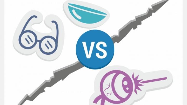 Что выгоднее: сделать лазерную операцию или носить контактные линзы и очки
