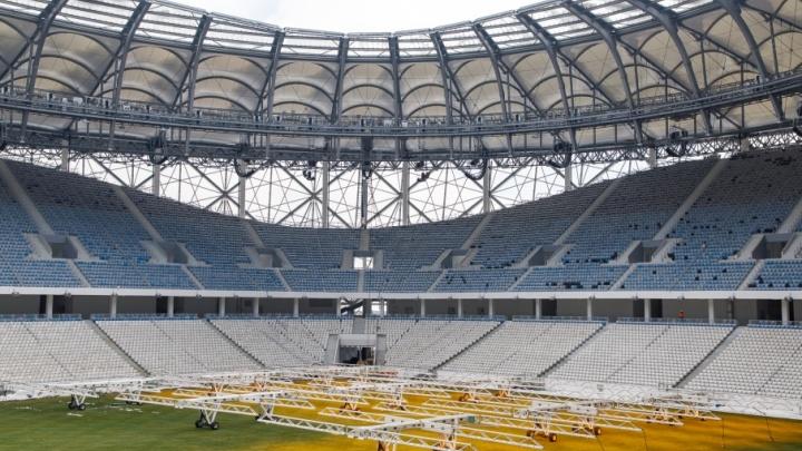 «Волгоград Арену» сдадут в эксплуатацию к апрельскому матчу «Ротора»