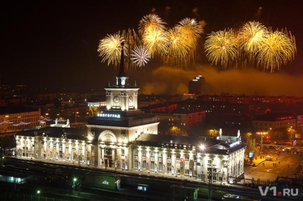 Готовиться к большому фейерверку на 2 февраля в Волгограде начали уже сейчас