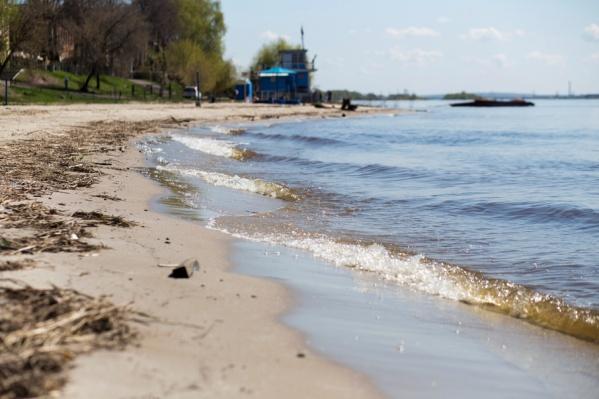 Масштабный вывоз песка с берегов Волги запрещен