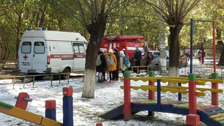 Родителей челябинских школьников возмутили действия учителей во время эвакуации