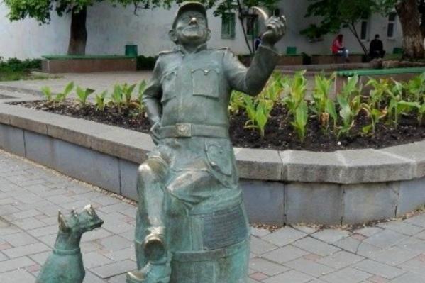 Памятник установили в 2013 году