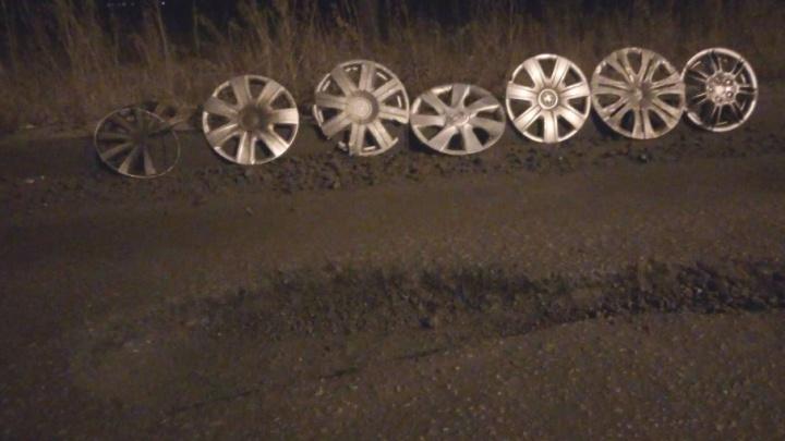 «Постоянно кто-то влетает»: челябинцев возмутила опасная яма на дороге из посёлков в город