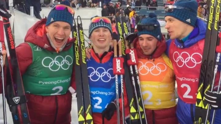 Тюменцы Спицов и Большунов завоевали серебро на Олимпиаде