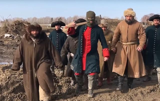 Команда фильма «Тобол» сняла кавер на песню «Тает лед»