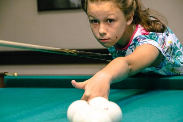 Лера в спорте с шести лет