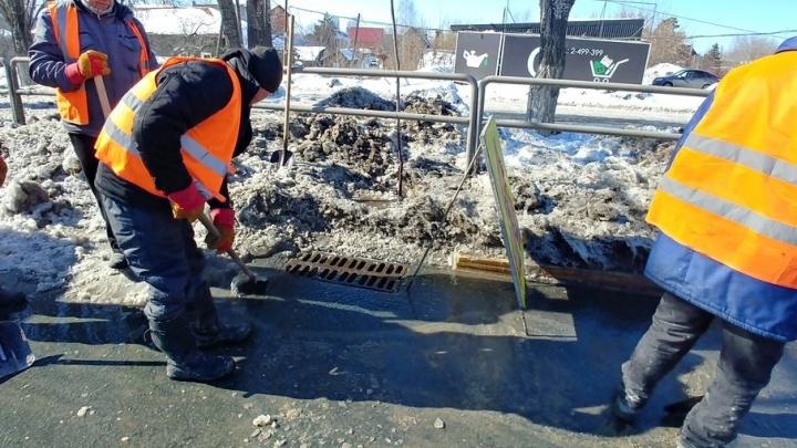 Частный сектор на Московском шоссе отключили от холодной воды