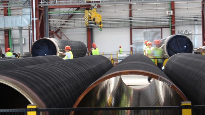 Произведенные в Волгоградской области трубы станут частью «Северного потока – 2»
