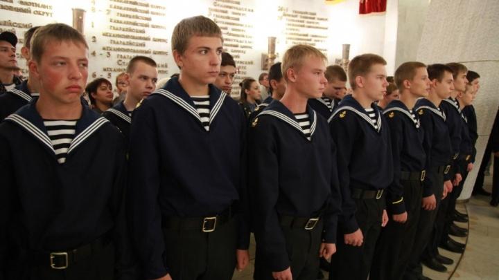 Будущие капитаны и коки поклялись в верности речному флоту в Волгограде