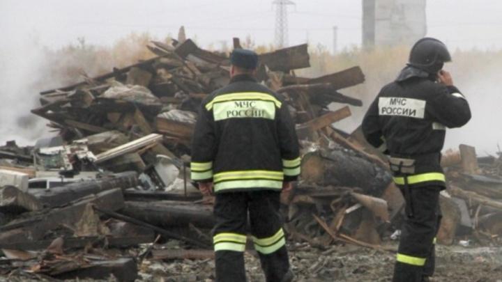 Тушение мусора на полигоне ТБО в Северодвинске будет продолжаться круглосуточно