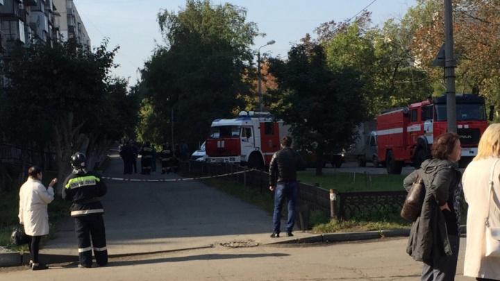 Пациенты и врачи покинули челябинскую поликлинику из-за запаха газа