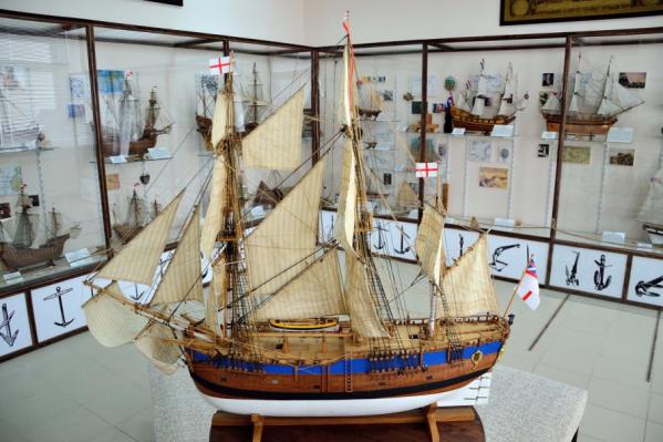 Волгоградцы узнают об истории судостроения с помощью моделей в масштабе 1:50
